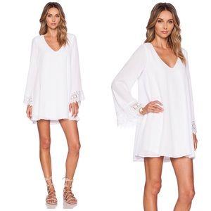 Show Me Your Mumu Portabella Dress in White Crisp